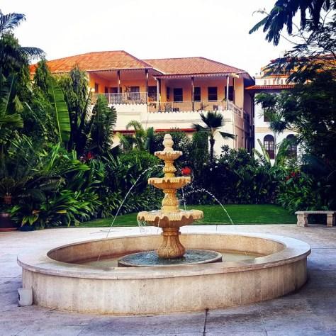 A Fountain, Park Hyatt Zanzibar