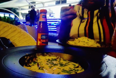 Creamy Mussels, Cape Town Fish Market