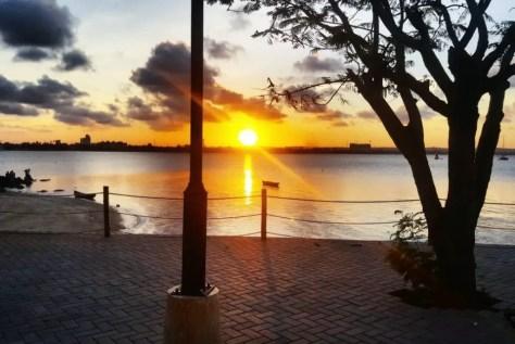 Orange Sunset, Thai Kani, The Slipway Dar es Salaam