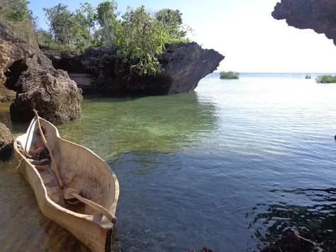 A moored boat, Kilwa