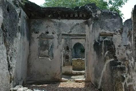 Ruins at Songo Mnara