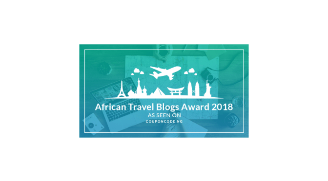 African Travel Blogs Award 2018: Please Vote for Me