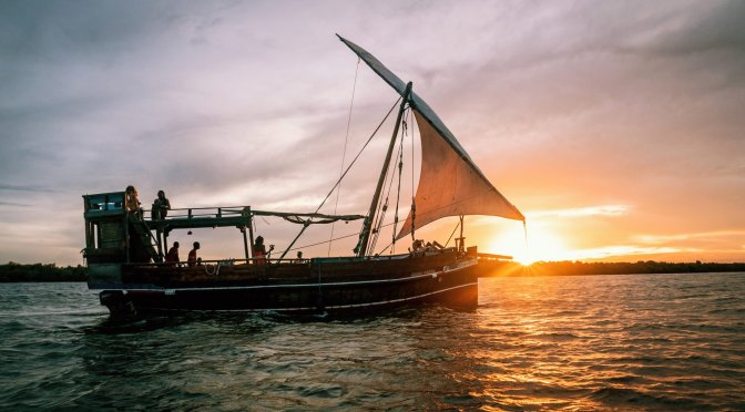 tailor-made Watamu trips can include a dhow sundowner ride