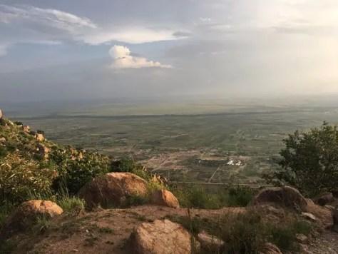 The view from Balili Mountain Resort, Bunda