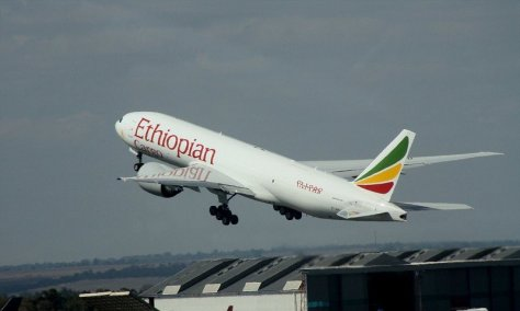 Flights from Johannesburg to Zanzibar: Ethiopian Airlines departing from OR Tambo