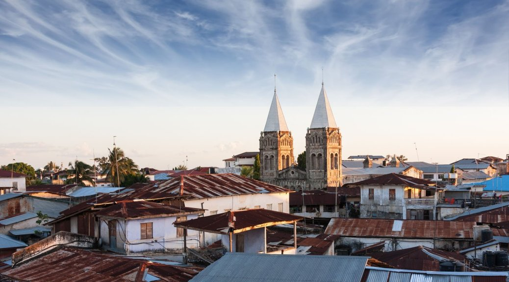 Rooftops, Stone Town Zanzibar