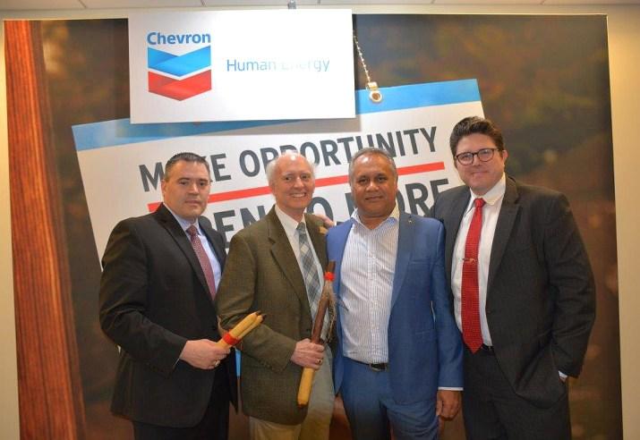 Group pic of Chickasaw Distributor, Chevron, and Australian executives-01