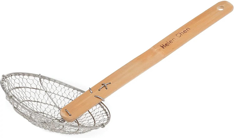 Classic Bamboo Handle Spider Skimmer