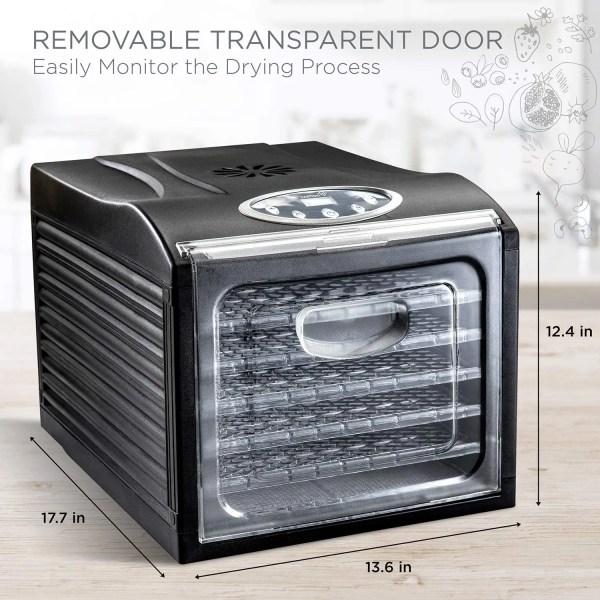 Impressive Countertop Dehydrator Dimensions