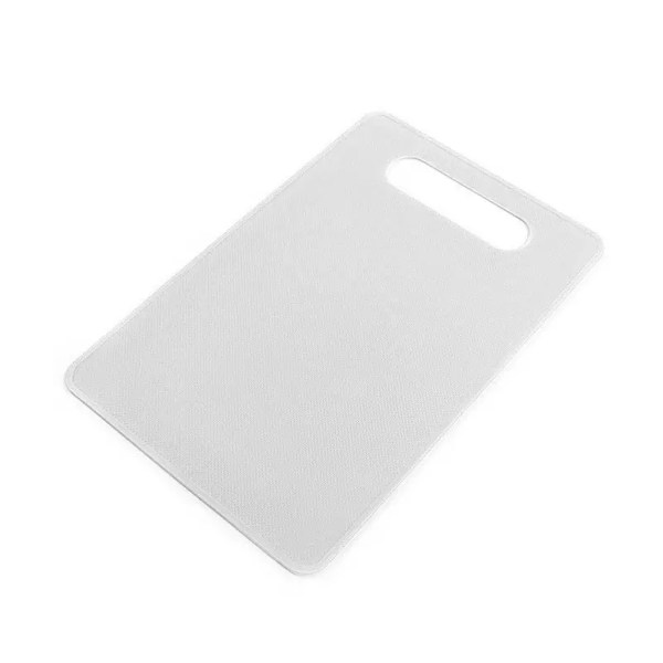 White Cutting Board with Handle