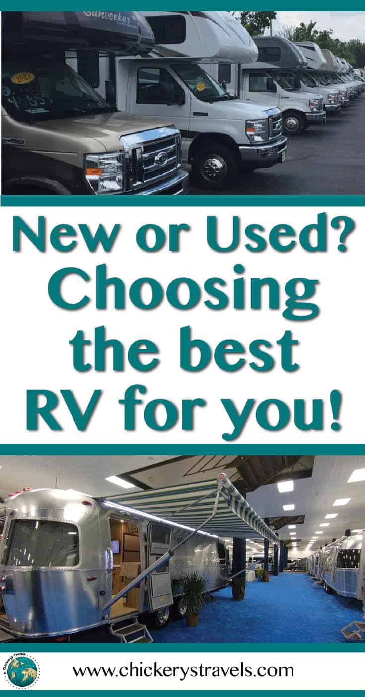 Tips for making the decision to purchase a new or used RV