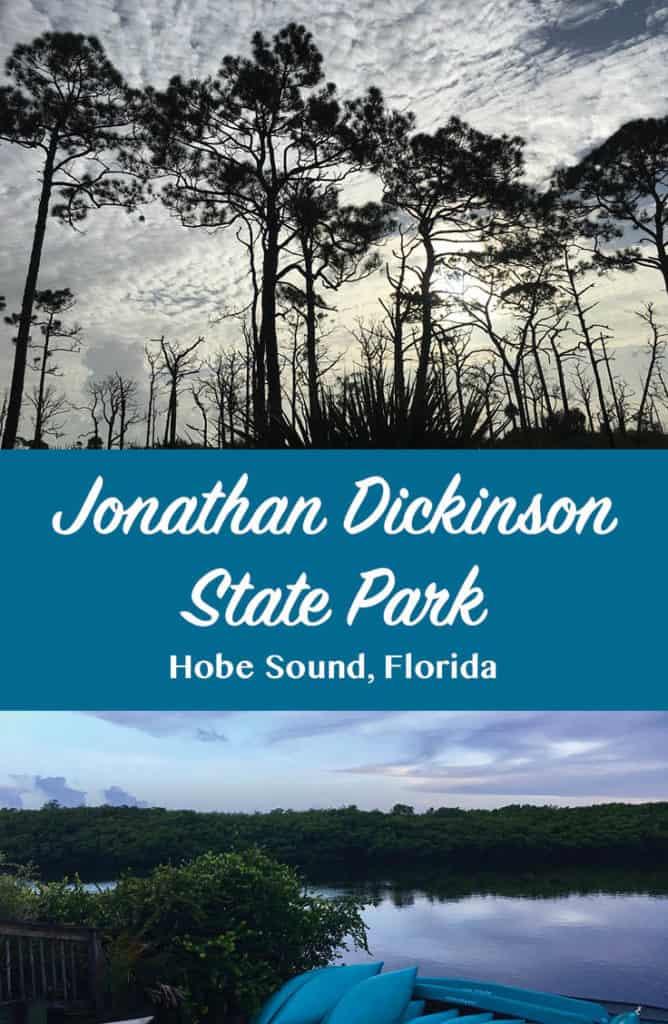 Jonathan Dickinson State Park Banner
