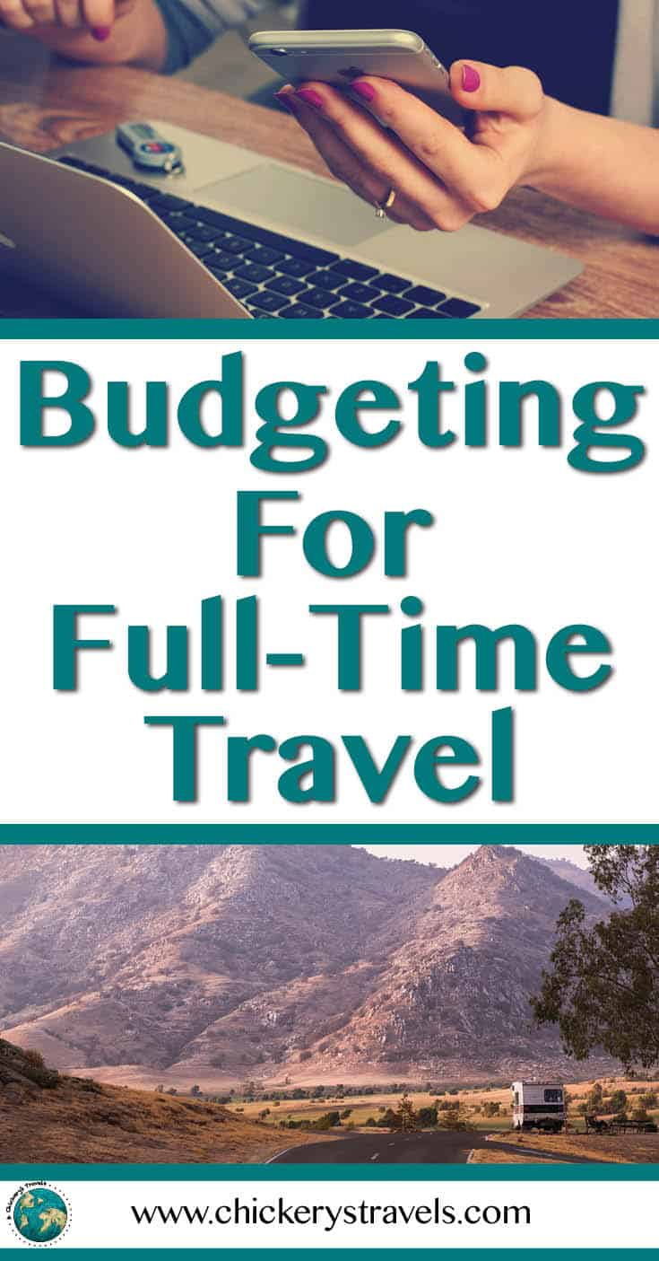 learn how much it costs to travel full time in an rv