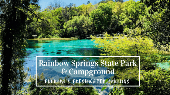 Rainbow Springs State Park And Campground In Dunnellon Florida