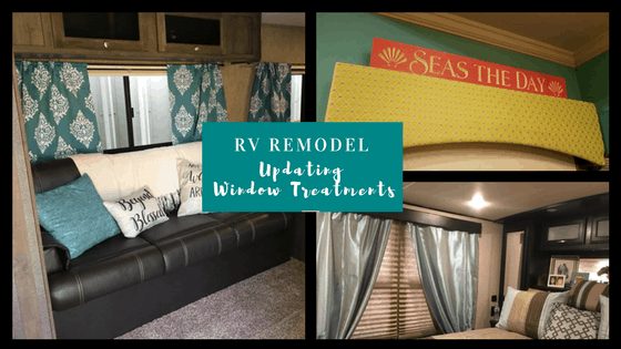 Rv Remodel Updating Your Rv Window Treatments