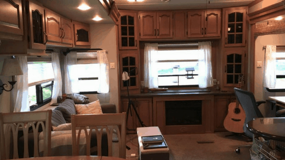 For A Simple Way To Brighten Up An RV Living Room During Your Remodel Consider