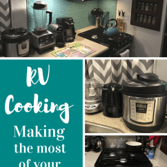 Rv Kitchen Appliances Glass Tile Backsplash Small Cooking In The Make Most Of Your Get Easy Recipes And Meal Planning Ideas To Cook For Two Motorhome