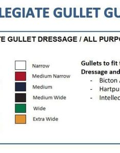 Size chart also collegiate simple  quick changeable gullet system bar chicks rh chicksaddlery