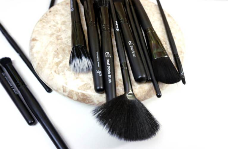 Eyes Lips Face E.L.F. - e.l.f. Brushes - e.l.f. Cosmetics Is College Budget Friendly | Chiclypoised | Chiclypoised.com