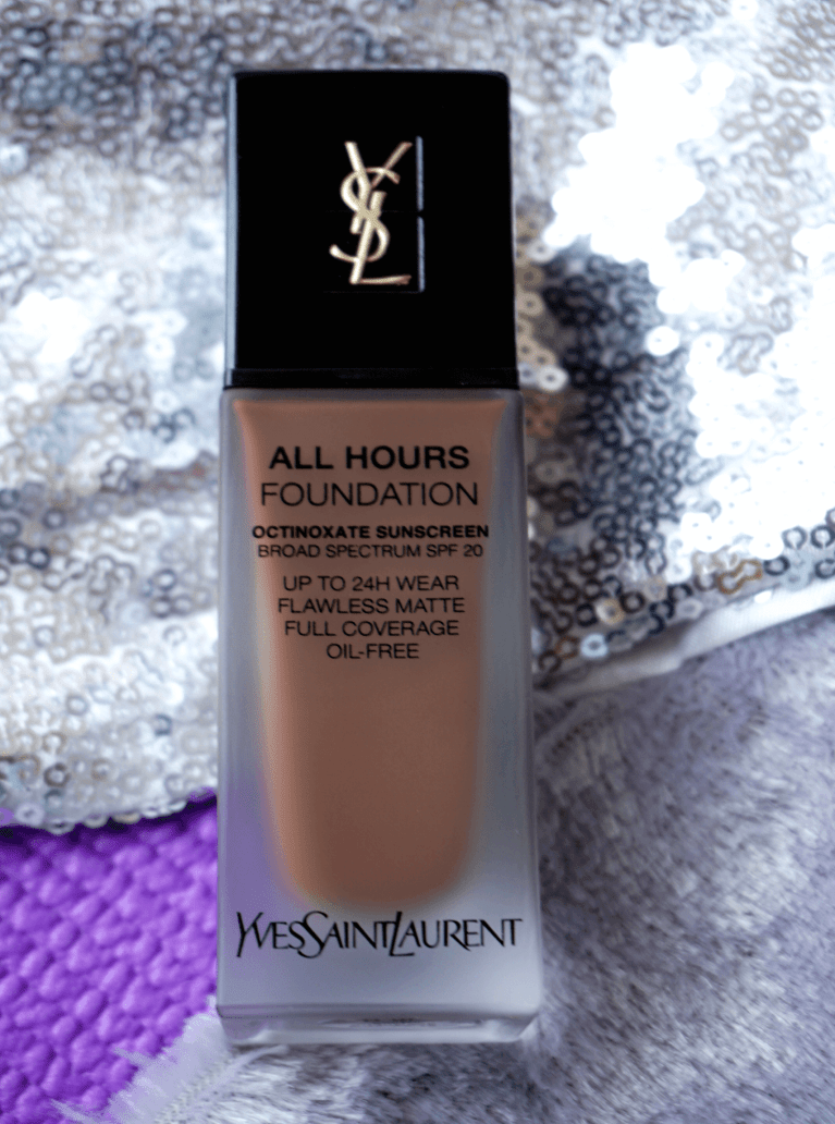 Influenster Reviews YSL All Hours Foundation Review Voxbox | Chiclypoised | Chiclypoised.com | Free YSL All Hours Foundation Sample
