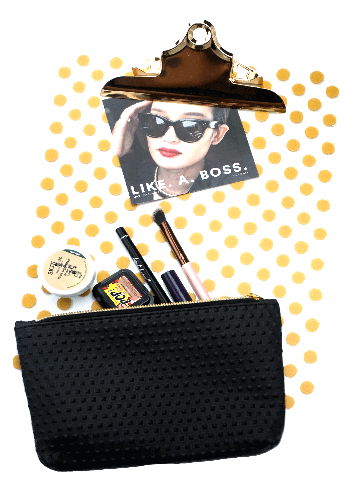 Ipsy Reviews Sepptember 2017 Ipsy Glam Bag   Like A Boss   Chiclypoised   chiclypoised.com