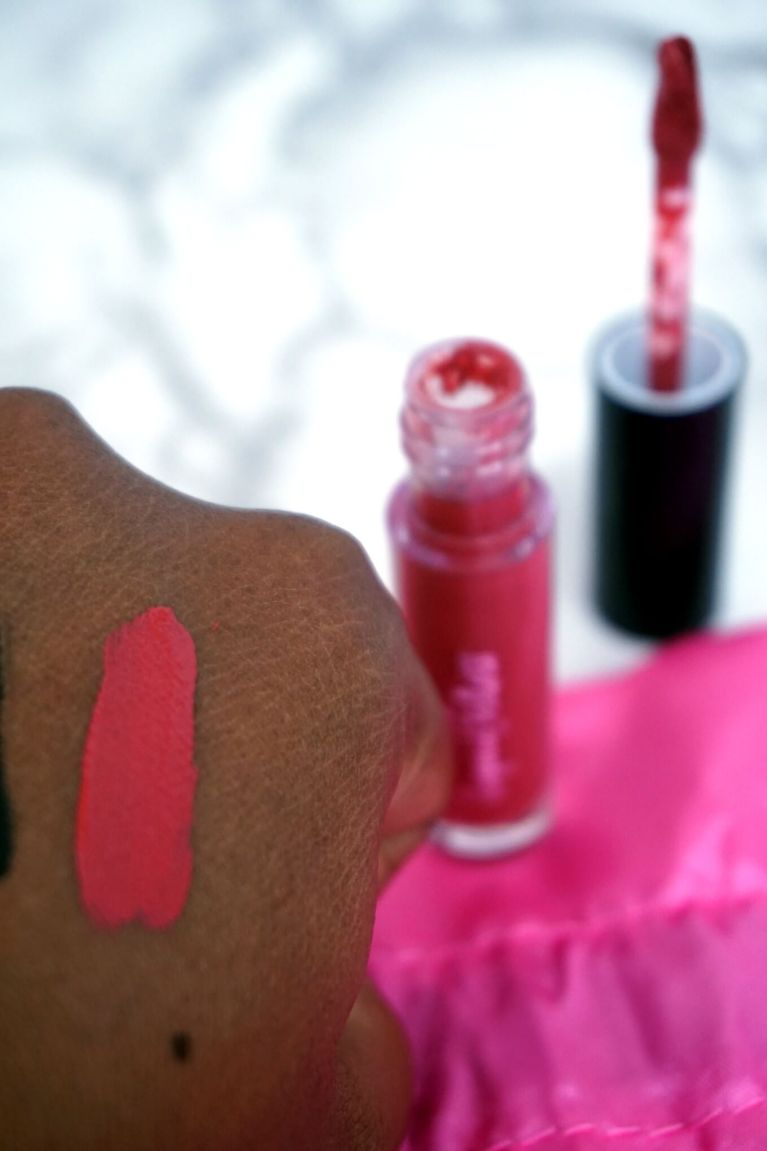 Sephora Play Reviews Play By Sephora Review September 2017 | Ciate London Liquid Velvet Moisturizing Matte Liquid Lipstick in Pin Up Swatches| Chiclypoised | Chiclypoised.com