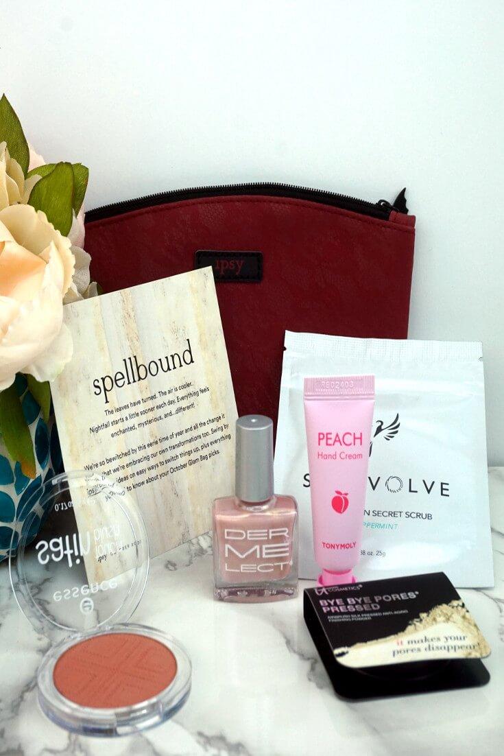 Ipsy Reviews October 2017 Ipsy Glam Bag | October Bag | Chiclypoised.com