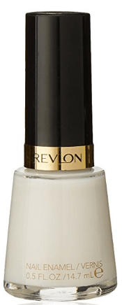 30 White Nail Polishes Under 10 Dollars | Revlon Nail Enamel 008 Ethereal | Chiclypoised.com