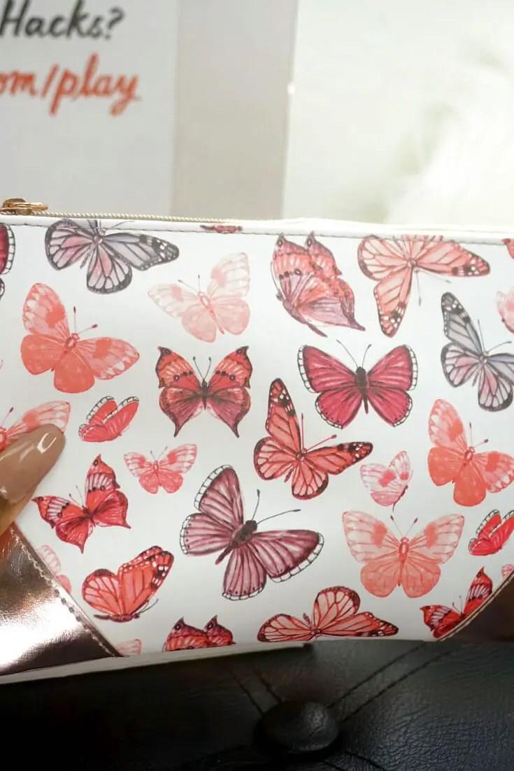 Ipsy Reviews April 2018 Ipsy Glam Bag | Ipsy Butterfly Bag