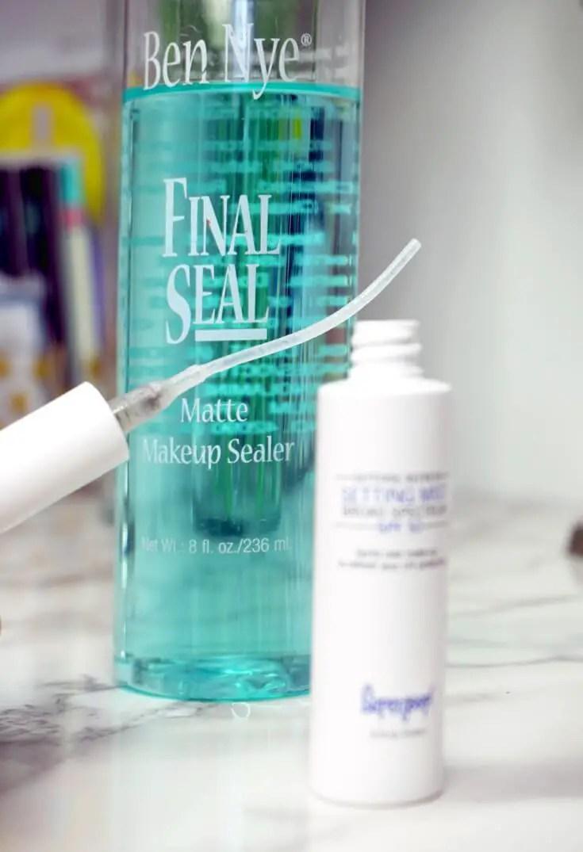 SUPERGOOP! Defense Refresh Setting Mist Dupe Ben Nye Final Seal Matte Makeup Sealer | Chiclypoised.com