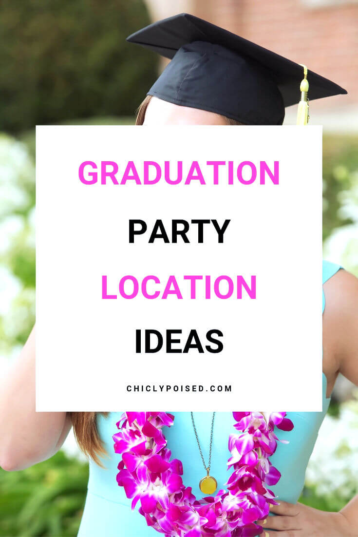 graduation party location ideas