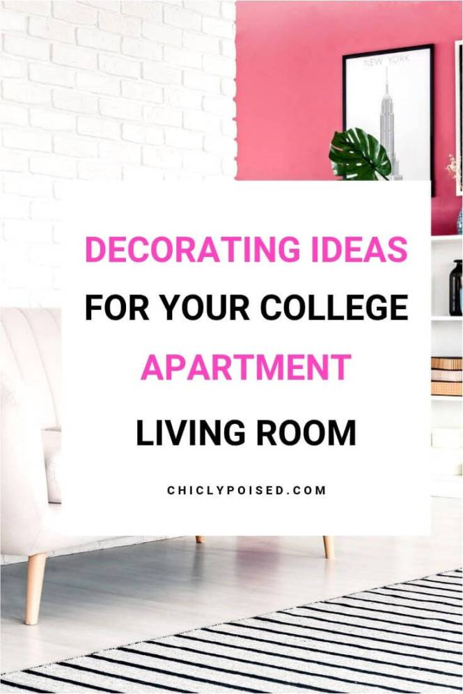 College Apartment Decorating Ideas For Your