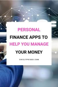 Good Personal Finance Apps To Help You Manage Your Money Chiclypoised