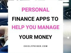 Good Personal Finance Apps To Help You Manage Your Money