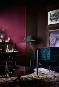 Breaking Design Rules: Dark Walls in Small Rooms - Chic ...