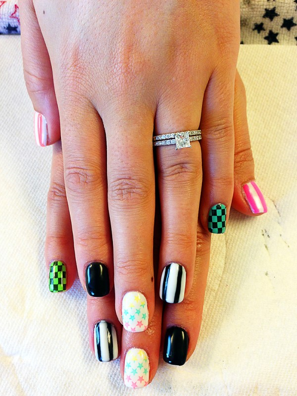 Gel Polish Nail Art Designs