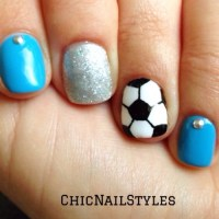 Soccer Nails - Chic Nail Styles
