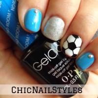 Soccer Nails | Chic Nail Styles