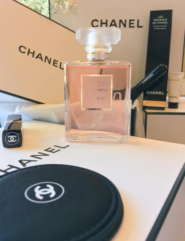 My bottle of Chanel Madamoiselle