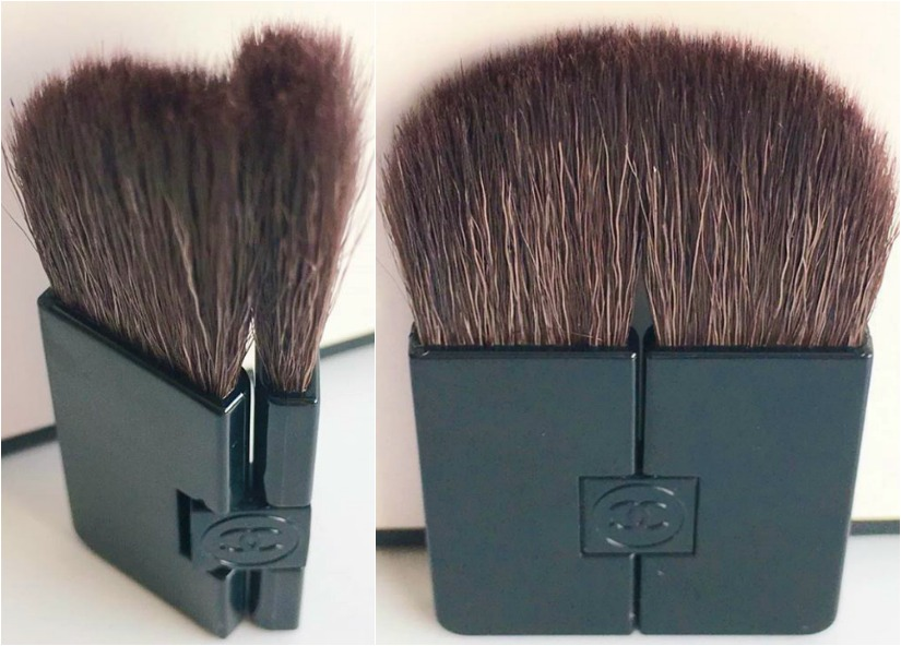 A Chanel brush blush tool
