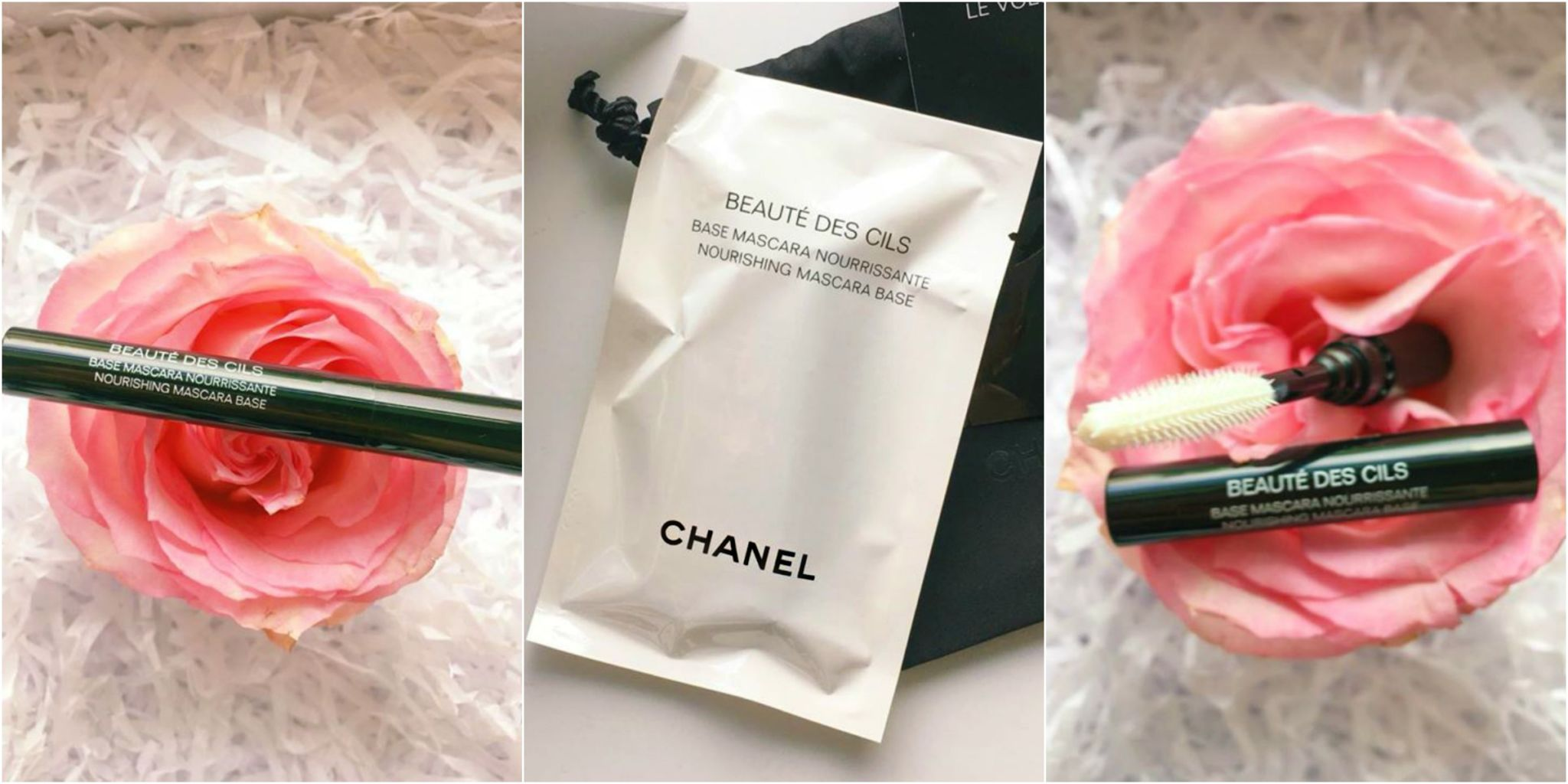 A sample Chanel mascara base