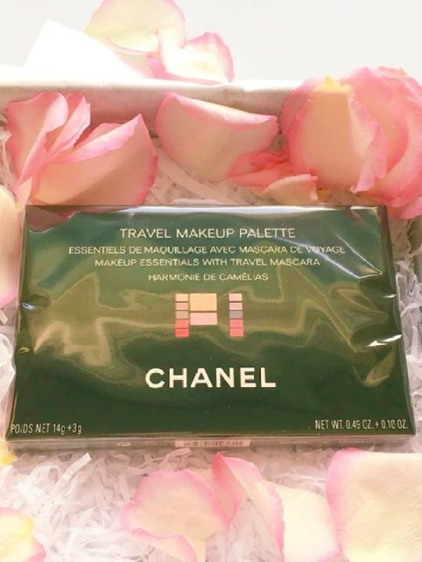 A wrapped Chanel palette