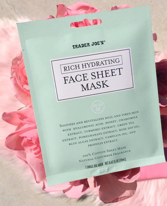 Trader Joe's Sheet Mask Packet