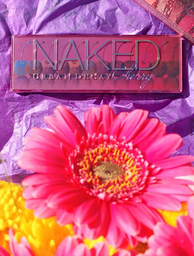 An eyeshadow palette from Urban Decay