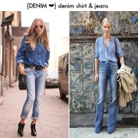 Double Up On Denim