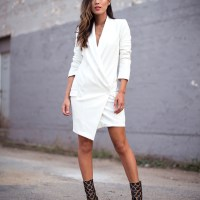 Blazer Dress. Aimee Song