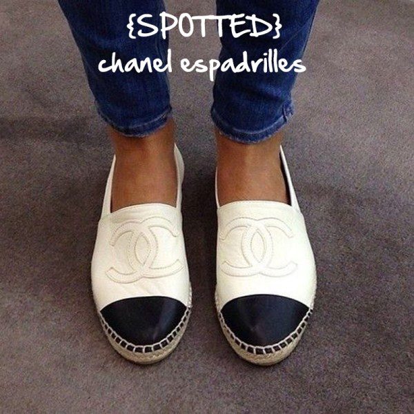 Chanel Espadrilles - Chic Obsession