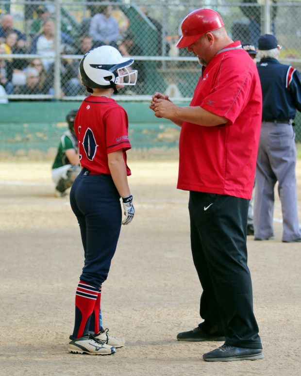 Toby Thompson of Las Plumas was named the Northern Section Coach of the Year for softball. (Eddie Saltzman -- Contributed)