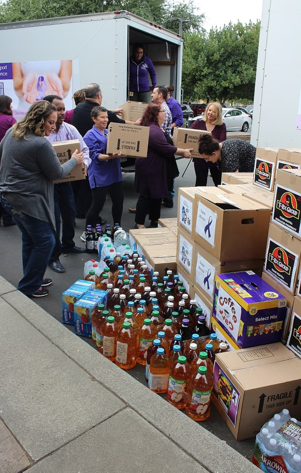 4 tons of food donated to Catalyst – Oroville Mercury-Register
