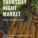 The Thursday Night Market is Back!